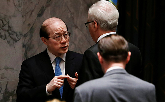 À l'Onu, Pékin appelle Londres à ne pas «empoisonner l'atmosphère».
