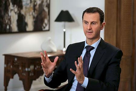 Assad: «Négocier ne signifie pas qu'on arrête de combattre le terrorisme»