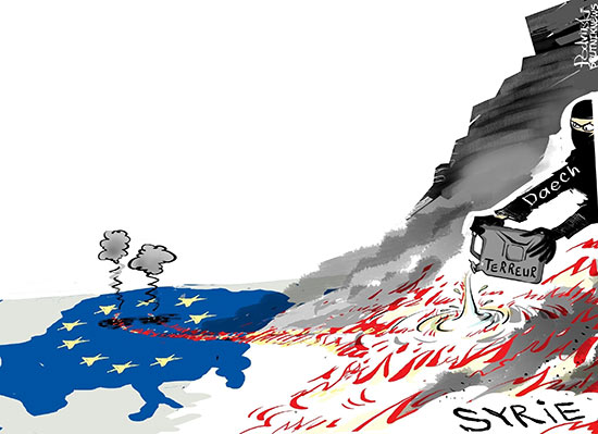 L'horreur à Bruxelles et les erreurs de l'Europe
