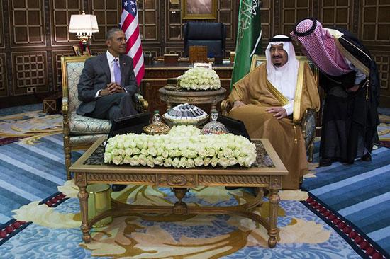 «Les jours heureux entre l'Arabie Saoudite et l'Amérique sont terminés».