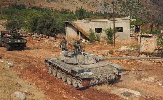 Syrie : Grands préparatifs à Sahel el-Ghab pour la prochaine bataille