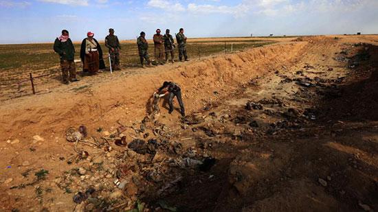 Un charnier de «Daech» renfermant des milliers de corps découvert en Syrie.