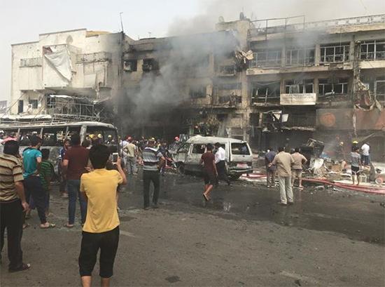 Irak: 18 martyrs dans deux attentats simultanés à Bagdad