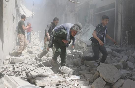 Le pilonnage d'Alep par les terroristes continue malgré le début du Ramadan