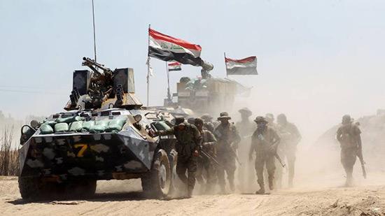 Les forces irakiennes reprennent leur offensive vers Mossoul.