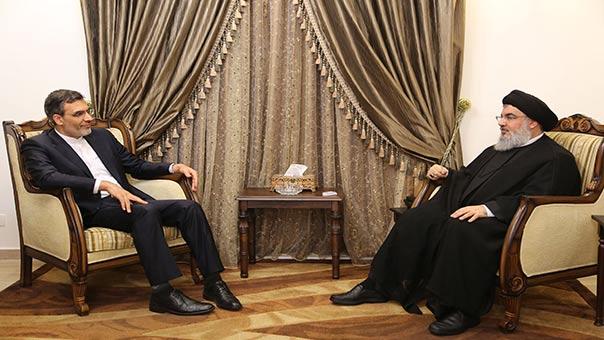 Le porte-parole du ministère iranien des AE chez sayed Nasrallah.