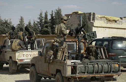 L'armée syrienne entre dans la province de Raqa, le fief de «Daech»