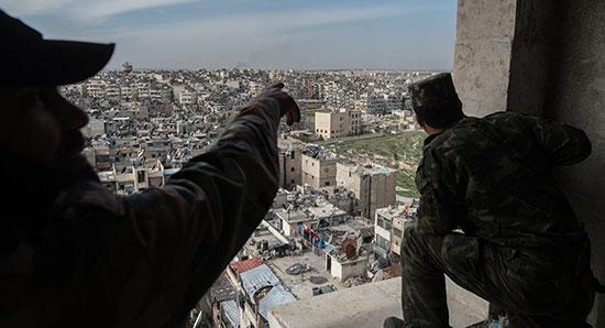 La route du Castello enterre le partage de la Syrie.