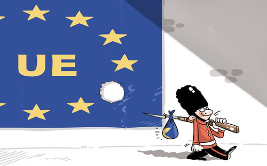 La sortie britannique de l'Union européenne: le début de la désintégration.