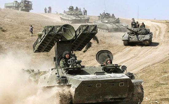 La Russie lance des exercices militaires près de l'Ukraine et dans le Caucase.