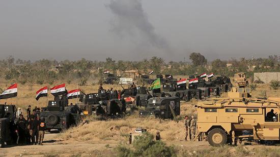 Les forces irakiennes s'approchent des rives du Tigre à Mossoul