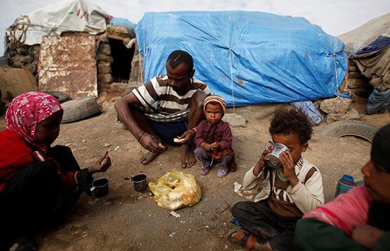 Le Yémen face à un risque de famine dans les mois à venir.