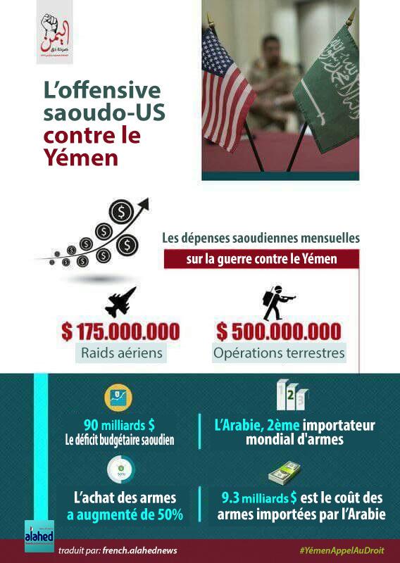 Combien coûte la guerre contre le Yémen à l'Arabie?