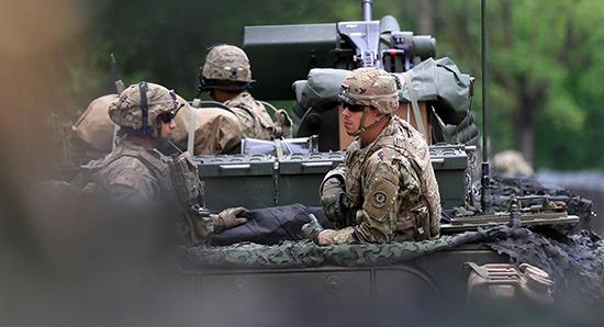 Moscou dénonce la présence d'une nouvelle brigade US près de ses frontières.