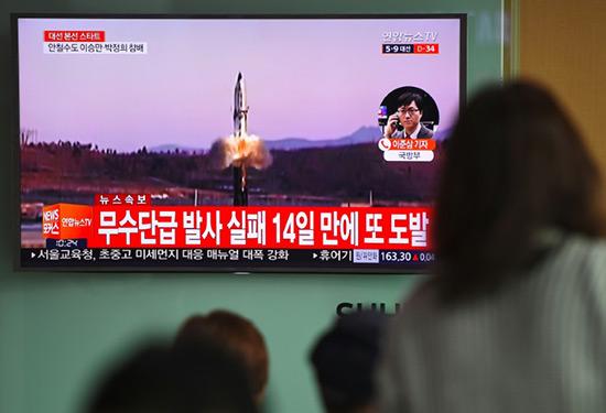 Pyongyang prêt à tester un missile «capable d'atteindre la côte ouest US».