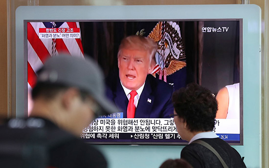 Trump a allumé «la mèche de la guerre», estime Pyongyang.