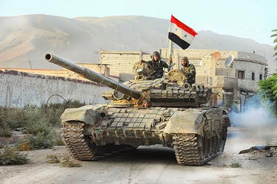 Syrie: l'armée entre à Mayadine, un des derniers fiefs de «Daech».
