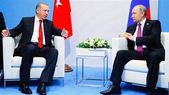 Poutine et Erdogan discuteront du règlement politique en Syrie