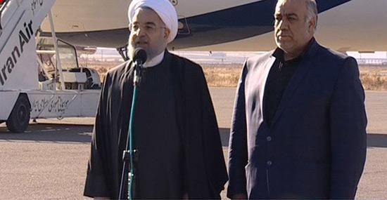 Iran: Rohani promet une reconstruction rapide après le séisme.