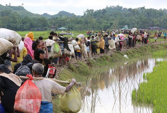 L'ONU demande à la Birmanie le retour des Rohingyas.