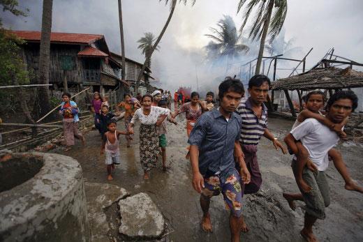 Possibles «éléments de génocide» contre les Rohingyas de Birmanie, selon l'ONU