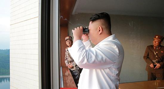 Washington s'apprête à frapper la Corée du Nord, dit Pyongyang.