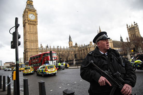 Royaume-Uni: neuf attaques terroristes déjouées depuis mars.