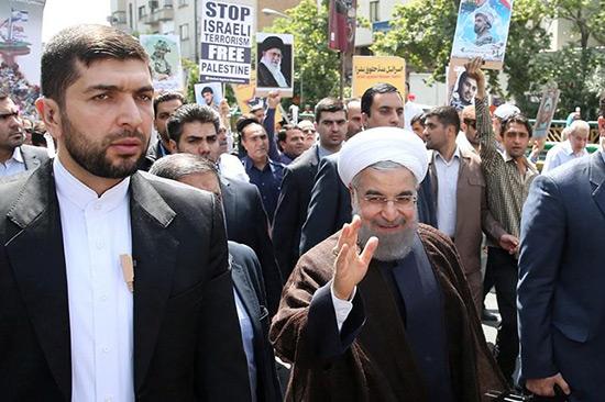 L'Iran «ne tolérera pas» la violation de Trump sur al-Qods, prévient Rohani.