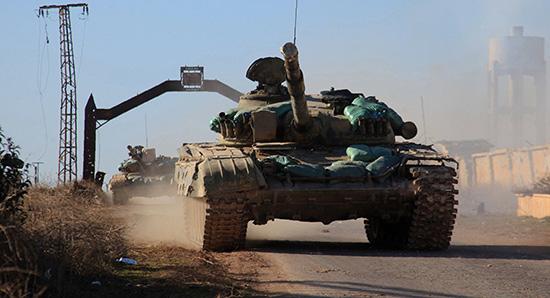 L'Armée syrienne barre la route aux Turcs à l'est d'Alep