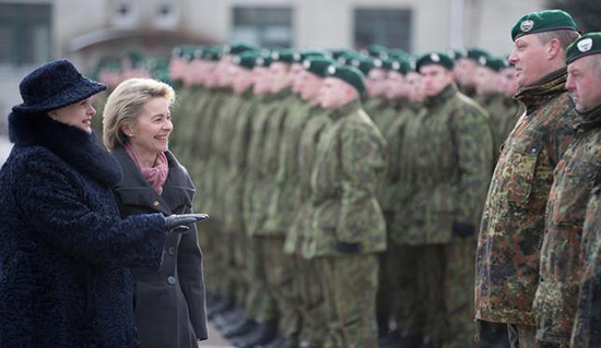 Renfort de l'Otan face à la Russie: des soldats allemands en Lituanie.