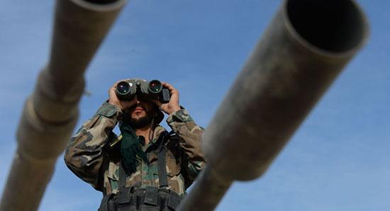 L'armée syrienne prête à chasser les terroristes de la banlieue Est de Damas.