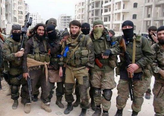 9000 combattants russes et d'ex-républiques soviétiques aux côtés des terroristes en Syrie