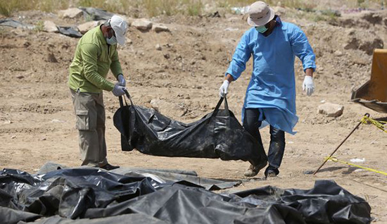 Des charniers découverts dans l'ouest de l'Irak