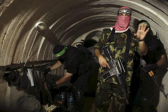 Le Hamas contrôle au moins 15 tunnels liant Gaza à «Israël»