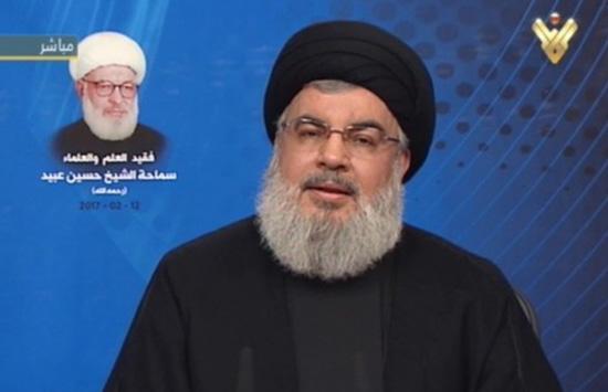 Le secrétaire général du Hezbollah sayed Hassan Nasrallah