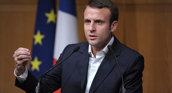 France/Présidentielle 2017: Macron investit le terrain de la sécurité.