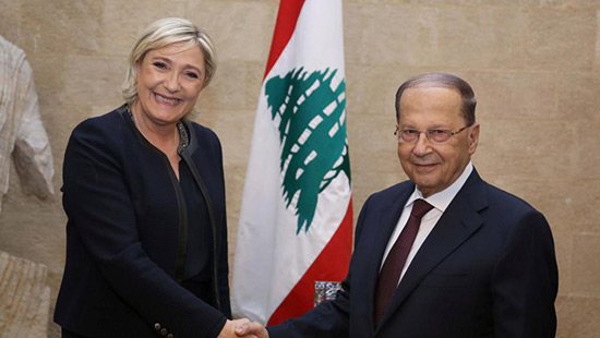 Marine Le Pen au Liban: bilan d'une visite controversée.