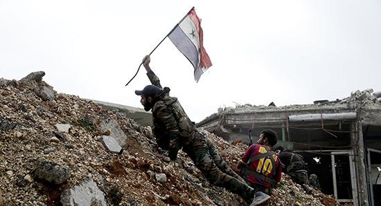 L'armée syrienne reprend le contrôle sur la ville de Serghaya, près de Damas.