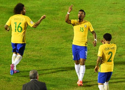 Mondial 2018: le Brésil premier pays qualifié pour la Russie