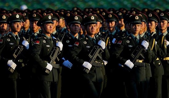 La Chine muscle son budget de défense.