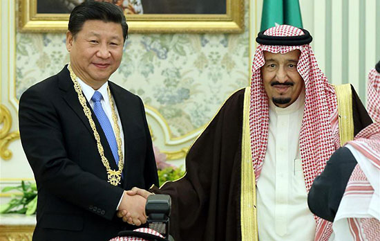 Des «milliards» sur la table pour la visite du roi d'Arabie en Chine