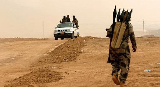 «Daech» utilise du gaz toxique contre l'armée irakienne à Mossoul.