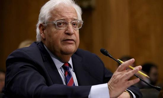 L'ambassadeur américain en «Israël» confirmé par le Sénat.