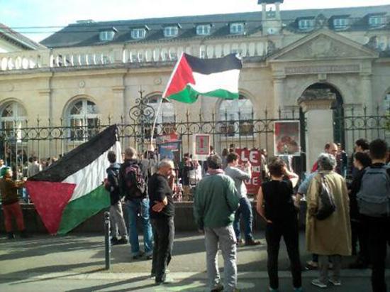 L'ambassadrice d'«Israël» boycottée par des étudiants pro-palestiniens à Sciences Po Rennes