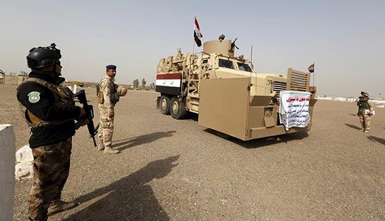 Irak: l'armée reprend la gare de Mossoul.