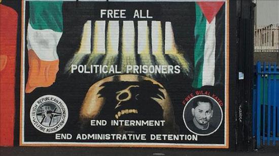 En Irlande du Nord, la solidarité avec la Palestine s'affiche sur les murs