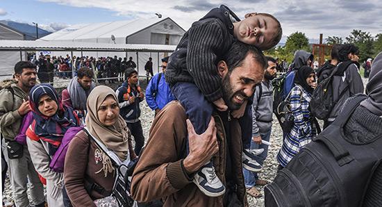 Plus de 1,2 million de demandes d'asile dans l'UE en 2016.