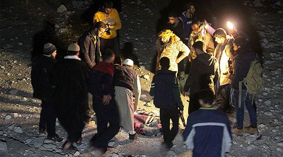 Washington reconnaît une frappe sur une mosquée syrienne qui a fait des dizaines de victimes