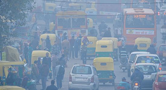 La pollution atmosphérique a tué 3,45 millions de personnes en 2007.