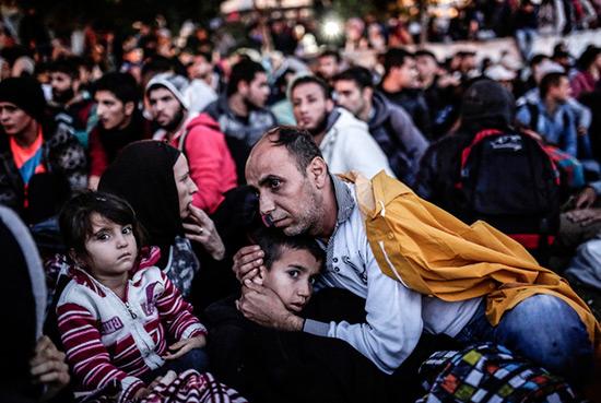 Syrie: la barre des 5 millions de réfugiés a été franchie.